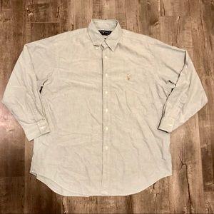 Ralph Lauren Polo Button Down Shirt 16.5 - 34